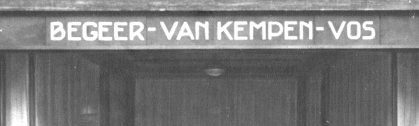 Wandeling langs Van Kempen en Begeer