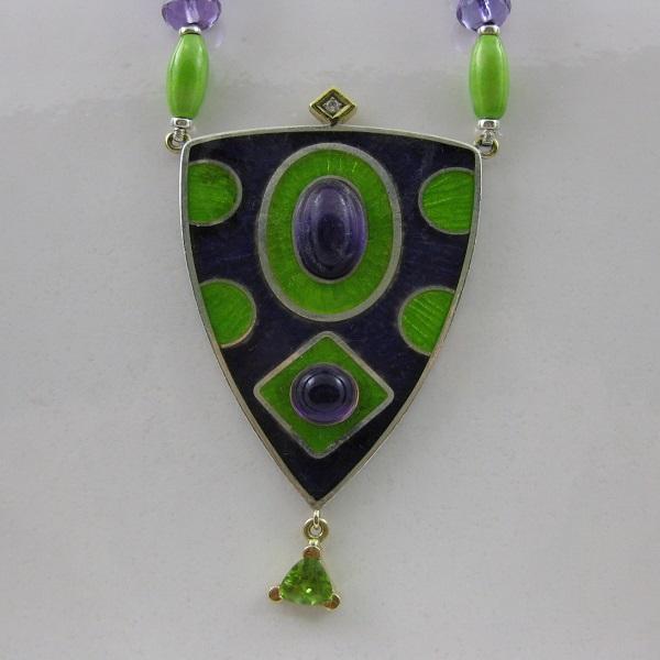 Leen Loffeld sieraden jewellery enamel email